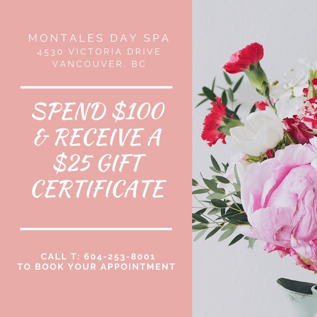 Montales Day Spa Promo